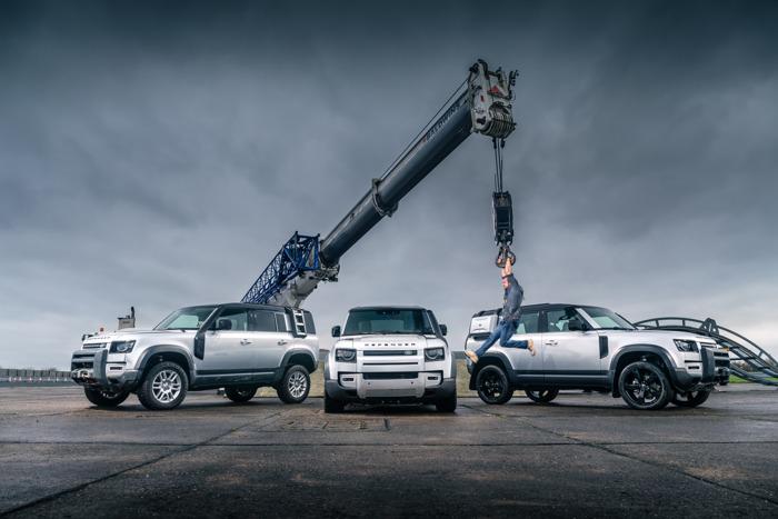 Top Gear verkiest Land Rover Defender tot Auto van het Jaar