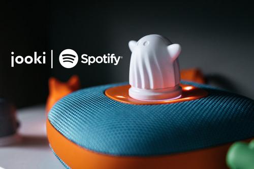 Jooki, l'enceinte intelligente pour enfants, devient partenaire de Spotify