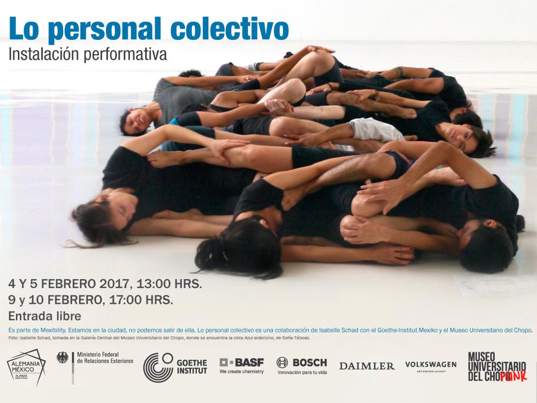 Invitación: Lo personal colectivo. Laboratorio coreográfico con Isabelle Schad