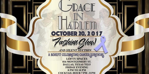 Grace in Harlem Benefit Cancer Awareness Fashion Show presented by CrossRoads ITG, LLC & ConQHer, Inc.