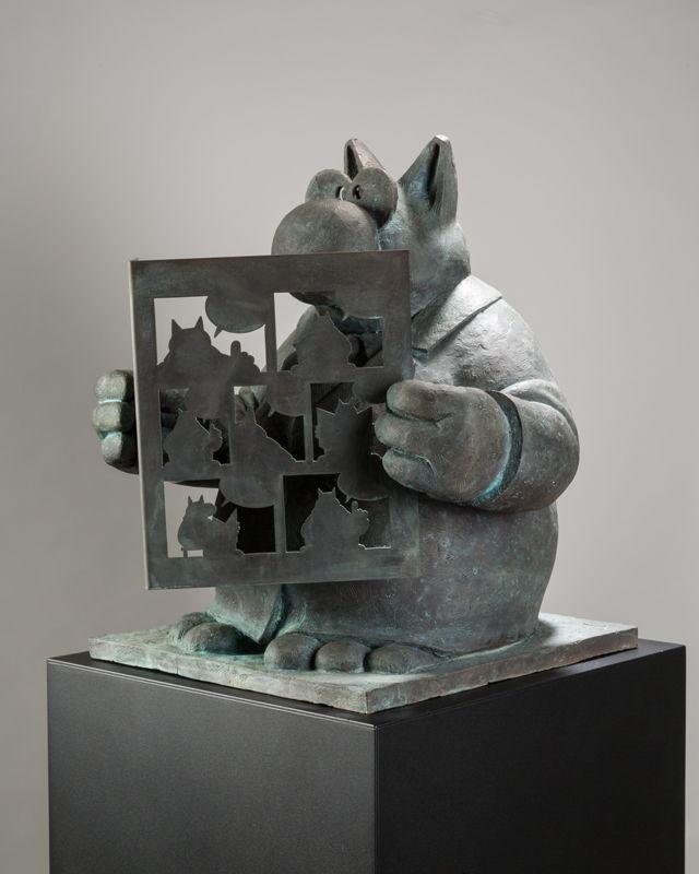 Philippe Geluck Bronze