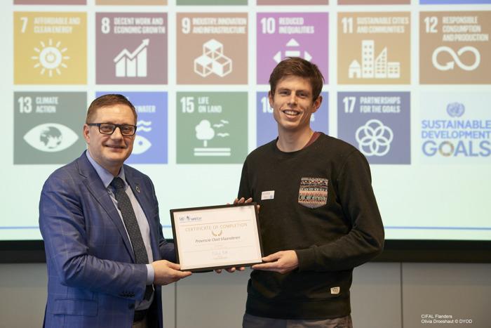 Provincie Oost-Vlaanderen erkend als pionier voor inzet duurzame ontwikkelingsdoelstellingen