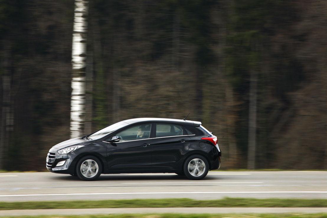 i30 (2015) driving Swiss