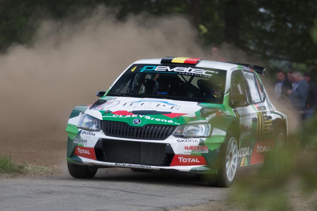 De Ypres Rally vormt een belangrijke afspraak voor ŠKODA België en Sébastien Bedoret