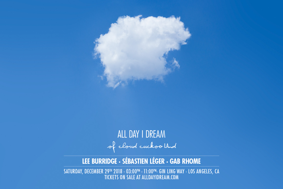 All Day I Dream Announces Annual New Year's Weekend Show in Los Angeles