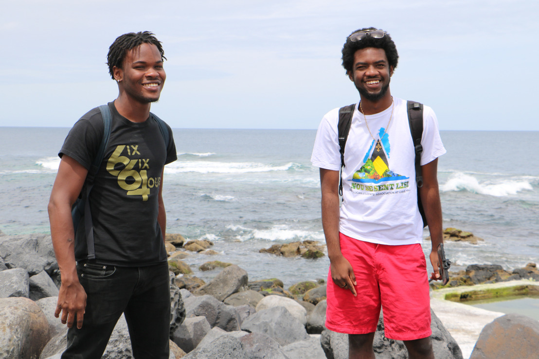 Two OECS Climate change activists raise awareness in the international arena