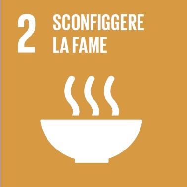 Goal #2: Porre fine alla fame, raggiungere la sicurezza alimentare, migliorare la nutrizione e promuovere un'agricoltura sostenibile
