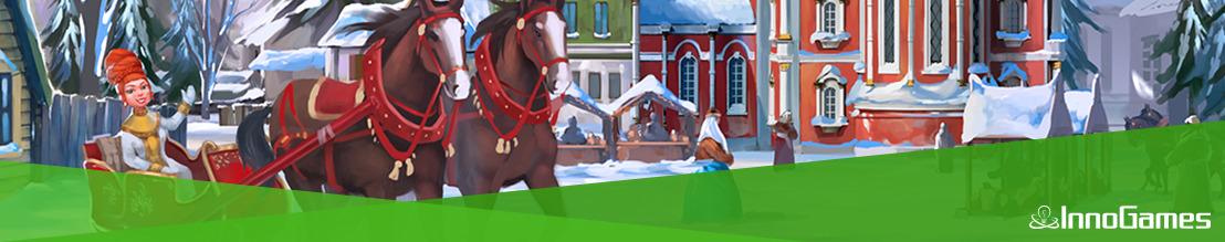 """Geschenke, Schnee und """"Santa Yeti"""": Winter-Events in Forge of Empires, Elvenar und Grepolis"""