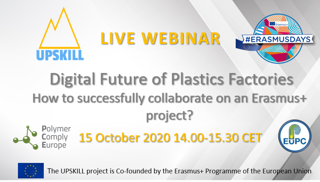 Meet the speakers: Digital Future of Plastics Factories - How to successfully collaborate on an Erasmus+ project?