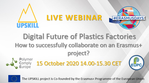Digital Future of Plastics Factories - How to successfully collaborate on an Erasmus+ project?