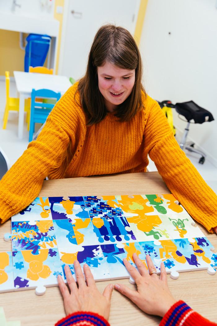 Puzzel helpt kinderen hun zeldzame genetische aandoening te begrijpen