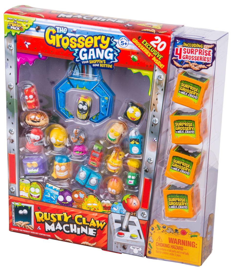Grossery Gang Rusty Claw mega pack