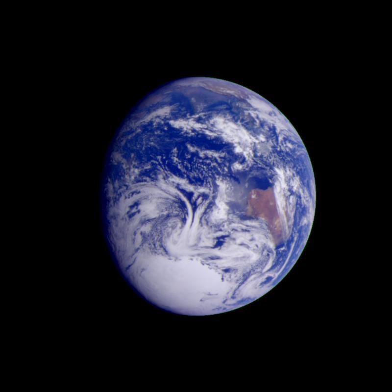 Earth. Credit: NASA/JPL