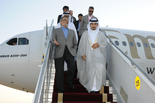 Emirates touches down in Mashhad