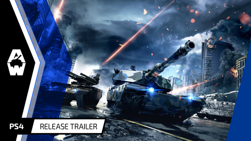 ARMORED WARFARE NOW AVAILABLE ON PLAYSTATION ® 4