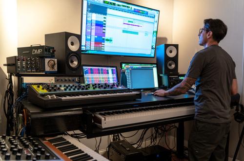 BAE Audio Helps Prolific Podcast and Composer/Sound Designer Luis Guerra Gain 'Audio Advantage'