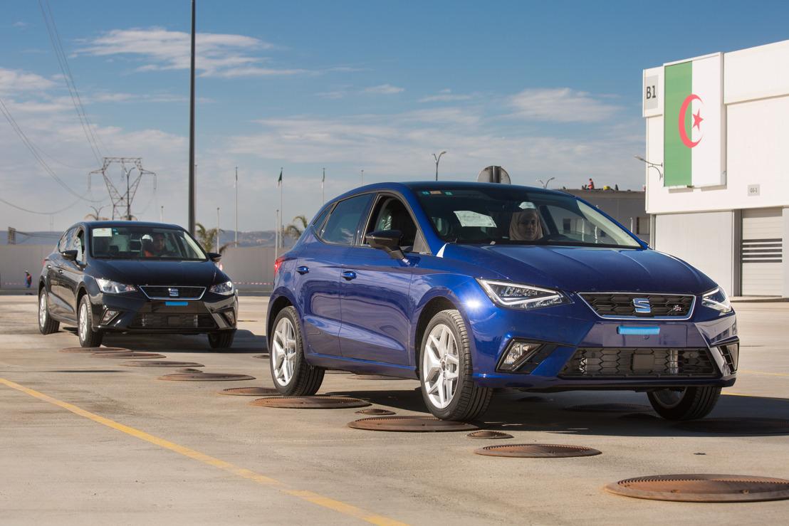 SEAT neemt het voortouw in de groei van de Volkswagen-groep in Noord-Afrika
