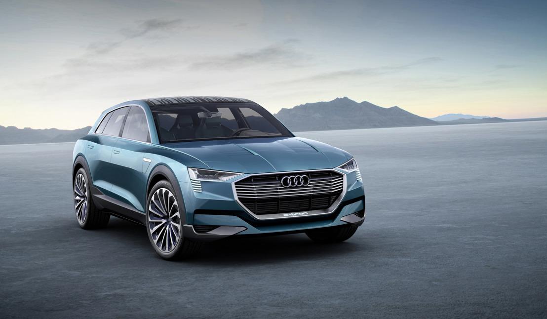 Audi e-tron quattro concept: compromisloos elektrisch rijplezier