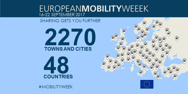 Preview: EUROPEANMOBILITYWEEK 2017: Making shared mobility clean and intelligent