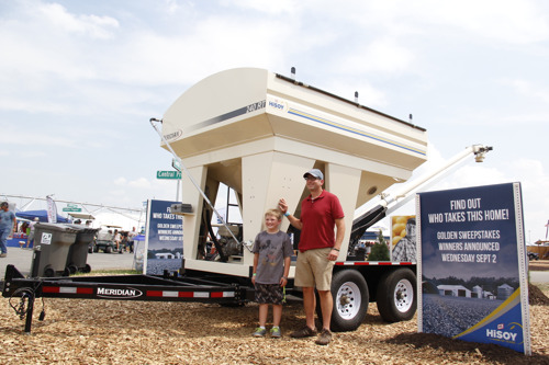 FS HiSOY Golden Sweepstakes Winner Announced at Farm Progress Show