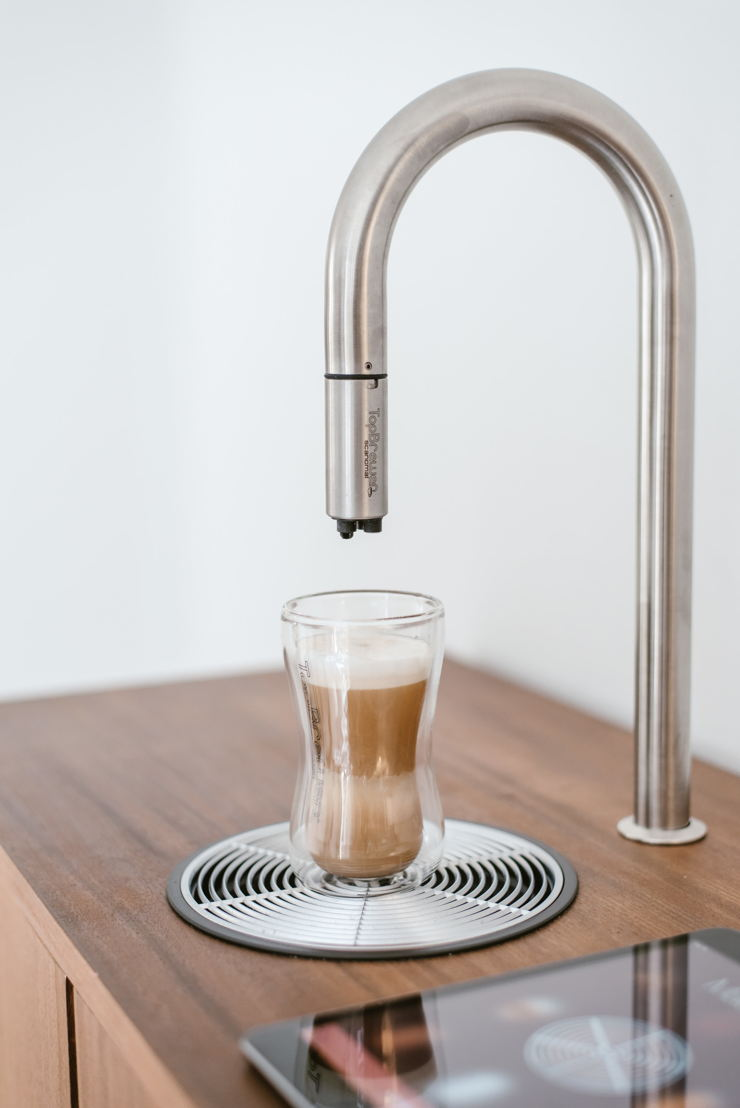 Smart coffee: TopBrewer