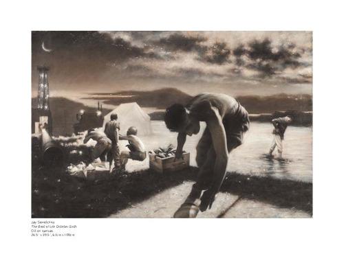 Jay Senetchko's THE BEST OF LIFE  Art Exhibit Opens September 24th