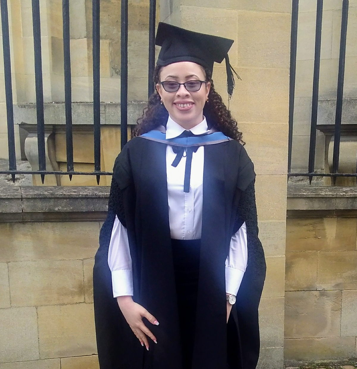 Aria's Graduation Day, University of Oxford.