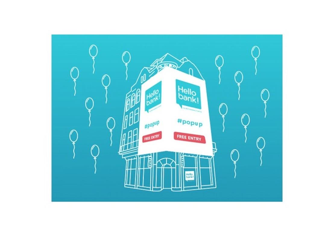 Op zaterdag 21 juni sluit Hello bank! de pop-up in stijl af
