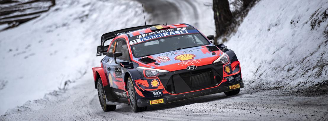Hyundai startet mit Podiumsplatz in die WRC-Saison 2021
