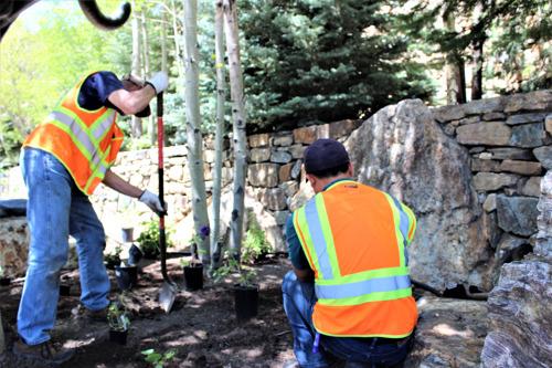 City of Black Hawk partners with Denver Botanic Gardens to create high altitude mountain garden