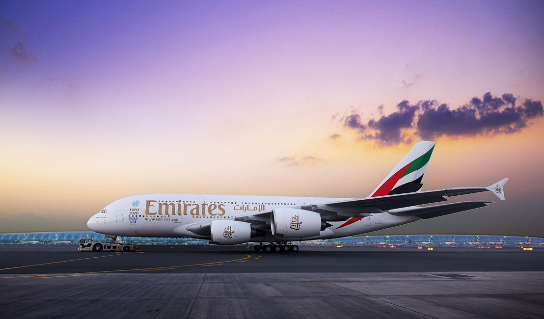 Two-class Emirates A380