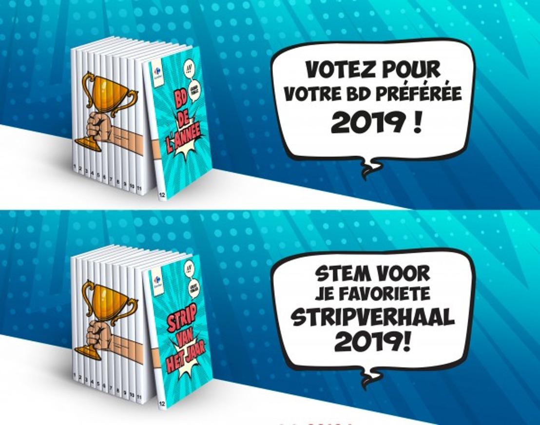 Carrefour lanceert voor het eerst de Strip Award