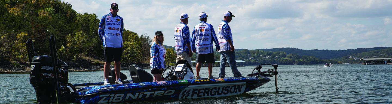 Ferguson nets major fishing sponsorship in 2015