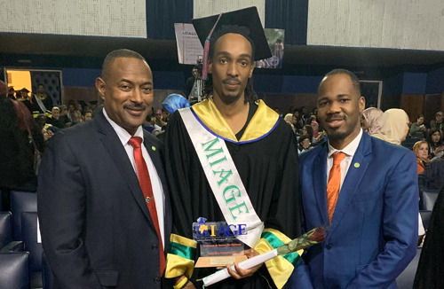 Embassies of Eastern Caribbean States Congratulates Dominican Student on Academic Achievements in Morocco