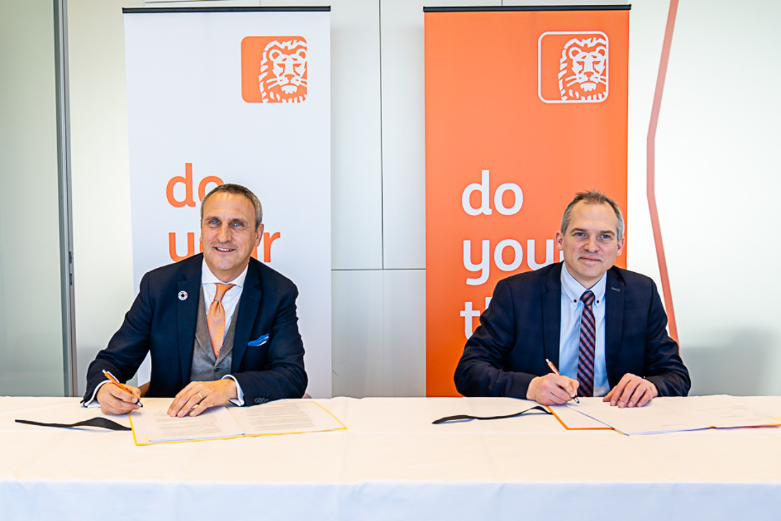 ING to make payments of EUR 100 billion p.a. on behalf of the Flemish government