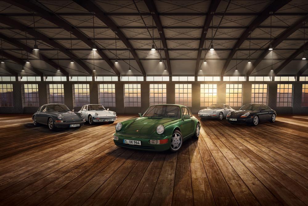 30 años del Porsche 911 Type 964