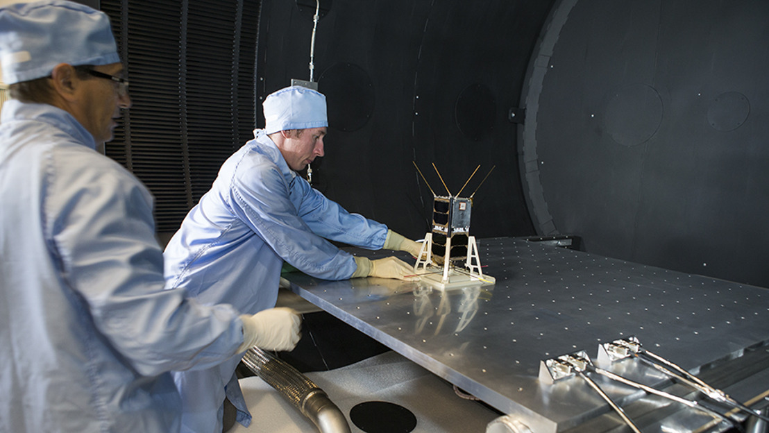 Australian-built satellites launched into space