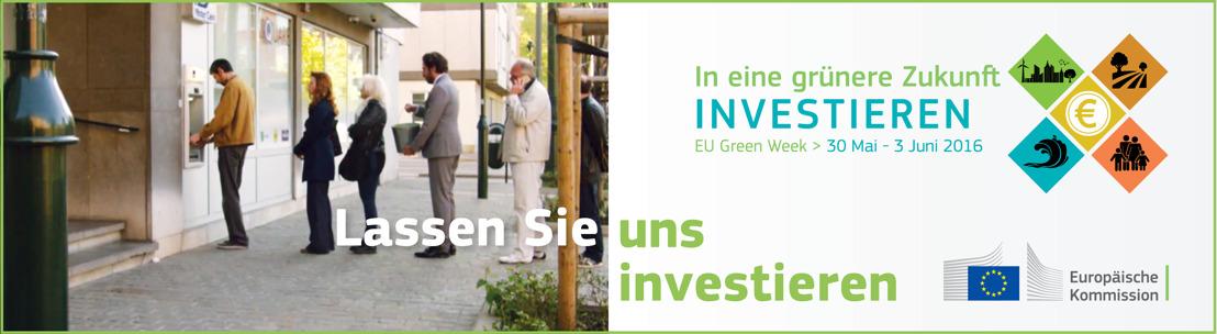 Der Vizepräsident der EU-Kommission spricht über eine verbesserte grüne Finanzierung