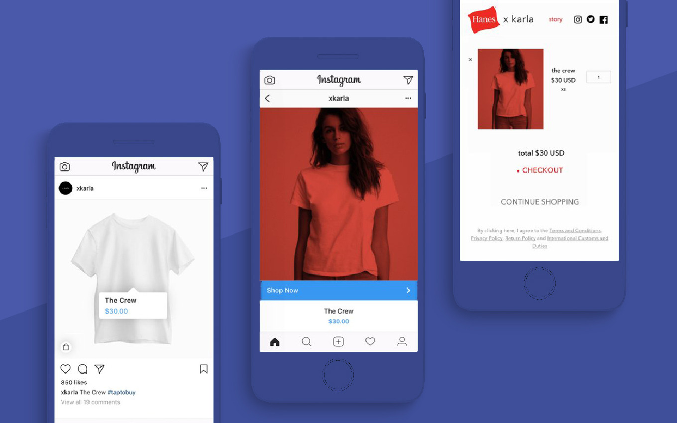 Shopping on Instagram is Growing with Shopify