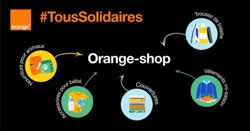 Orange Belgium lance #SamenSolidair #TousSolidaires et transforme ses >100 boutiques en points de collecte pour réunir toutes sortes de produits de première nécessité afin d'aider les gens dans le besoin