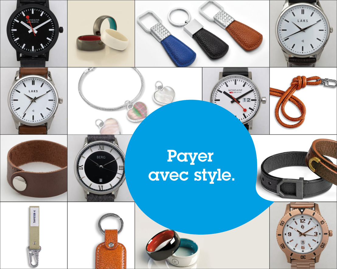 À partir d'aujourd'hui, tous les clients de KBC (Brussels) et de CBC peuvent payer avec un wearable.