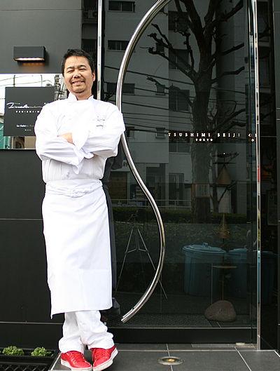 Chef Seiji Tsushimi - winner We