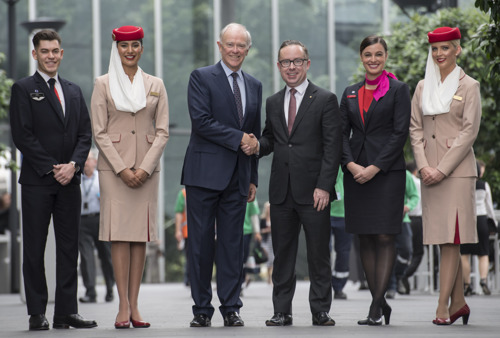 Qantas and Emirates partnership update