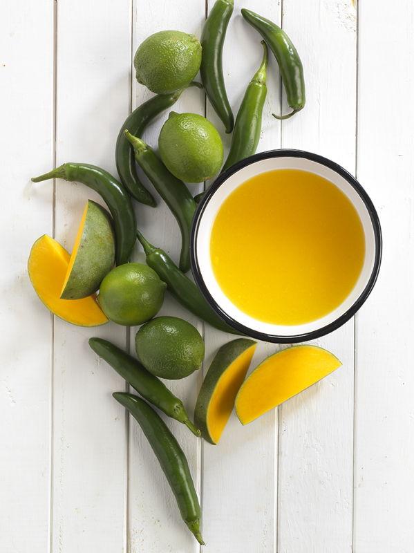 Mangosoep met limoen (c) Brian Wetzstein