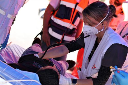 Médicos Sin Fronteras atiende a cientos de palestinos y palestinas heridos por la policía israelí