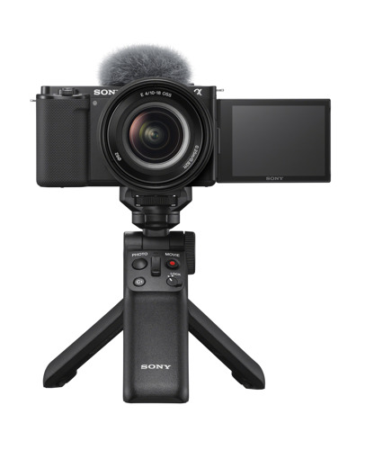 Sony Electronics Introduces the New Interchangeable-Lens Vlog Camera ZV-E10 for Vloggers and Video Creators