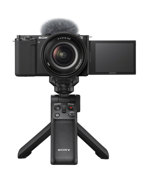 Preview: Sony Electronics Introduces the New Interchangeable-Lens Vlog Camera ZV-E10 for Vloggers and Video Creators