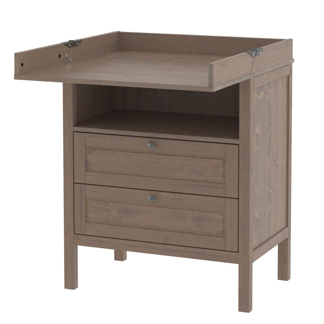 IKEA procède à un rappel pour réparation de la table à langer/commode SUNDVIK en raison d'un risque de desserrement de la partie rétractable