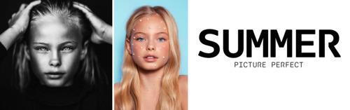"""Een kijk in het leven van het 11 jarige topmodel Summer: """"Ik zie het niet als werk, ik vind het leuk om te doen"""""""