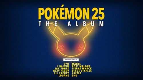 """""""Pokémon 25 : l'album"""" sortira le 15 octobre"""
